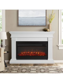 Beau Electric Fireplace In White By Real Flame by Real Flame