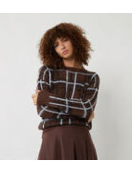 Brushed Check Jumper by Warehouse