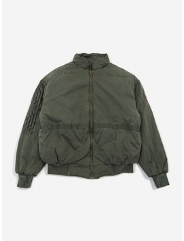 C.E Cav Empt Overdye Rev Zip Jacket   Green by Cav Empt