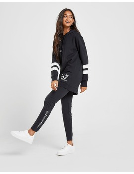 Emporio Armani Ea7 Long Line Hooded Tracksuit by Jd Sports