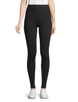 Textured Cashmere Leggings by Qi Cashmere