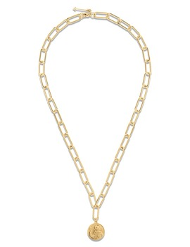 Leonie Coin Pendant Necklace by Ellie Vail