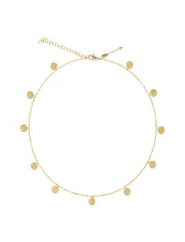 Sabina Sparkle Disc Necklace by Ellie Vail