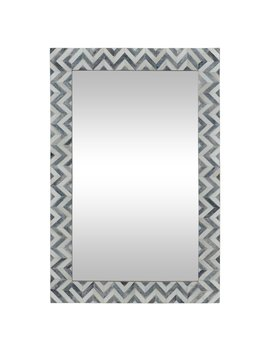 Abscissa Mirror   24 W X 36 H In. by Renwil