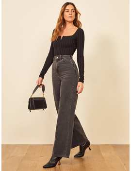 Jackie Ultra High Rise Wide Leg by Reformation