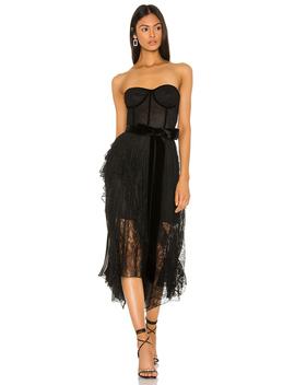 Bree Ruffle Dress by Alice + Olivia