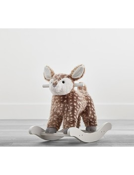 Fawn Plush Nursery Rocker by Pottery Barn Kids