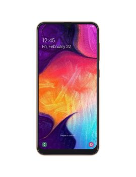 Telefon Mobil Samsung Galaxy A50, Dual Sim, 128 Gb, 4 G, Coral by Samsung