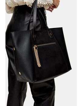Twinkle Black Tote Bag by Topshop
