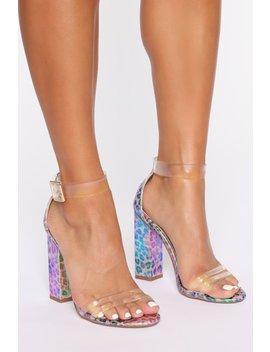 Ray Of Sunshine Heeled Sandals   Leopard by Fashion Nova