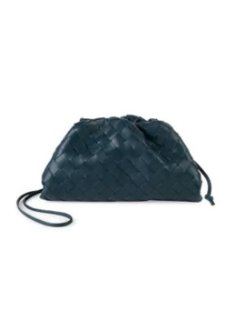 Mini Tassel Leather Pouch by Bottega Veneta