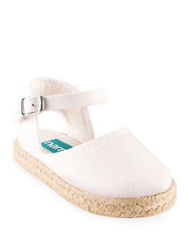 Namoo Cotton Canvas Espadrille, Toddler  by Namoo