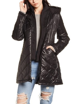 Water Resistant Quilted Hooded Jacket by Maralyn & Me