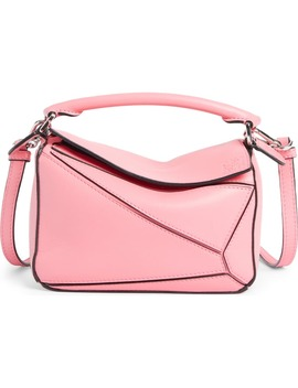 Mini Puzzle Calfskin Leather Bag by Loewe