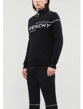 Speed Logo Print Cotton Knit Jumper by Givenchy