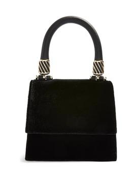 Mini Fancy Velvet Crossbody Bag by Topshop