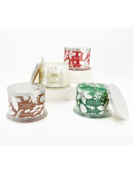 Home Worx By Harry Slatkin Special Edition Set Of (4) 14oz Holiday Candles by Home Worx By Harry Slatkin