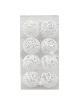 8 Ct. White Cutout Swirl8 Ct. White Cutout Swirl by At Home