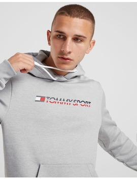 Tommy Hilfiger Overhead Chest Logo Hoodie by Jd Sports