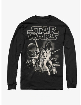 Star Wars Poster Long Sleeve T Shirt by Hot Topic