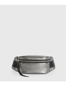 Miki Lea Leather Bumbag by Allsaints
