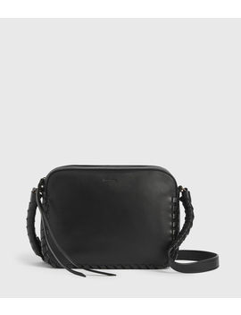 Courtney Square Leather Crossbody Bag by Allsaints