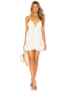 Penny Dress In White Field by Majorelle
