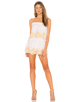 Kristine Romper In Sunset by Lovers + Friends