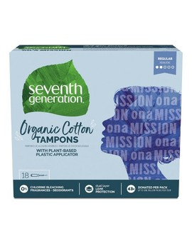 "<Span><Span>Seventh Generation Tampons With Comfort</Span><Br><Span>Applicator   18ct</Span></Span><Span Style=""Position: Fixed; Visibility: Hidden; Top: 0px; Left: 0px;"">…</Span> by 18ct…"