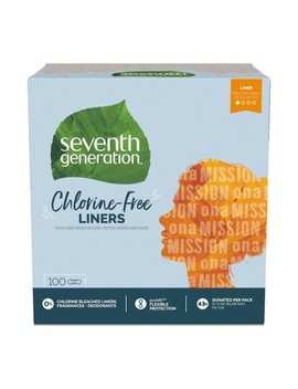 Seventh Generation Free & Clear Chlorine Free Light Pantiliners   100ct by Seventh Generation
