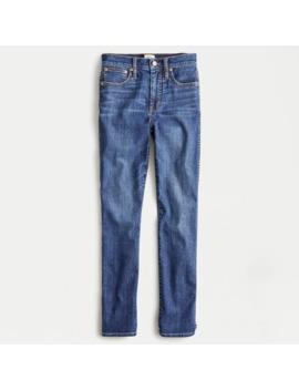 Petite Vintage Straight Jean In Dark Medium Wash by J.Crew