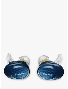 Bose® Sound Sport™ Free True Wireless Sweat & Weather Resistant Bluetooth In Ear Headphones With Mic/Remote, Blue by Bose® Sound Sport