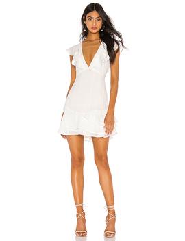 Monarch Mini Dress In White by Privacy Please