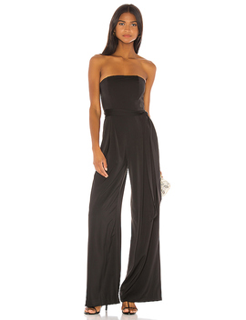 Plateau Jumpsuit In Black by Nbd