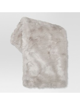 "Faux Fur Throw Blankets (50""X 60"")   Threshold™ by Shop Collections"