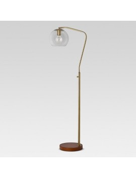 Madrot Glass Globe Floor Lamp   Project 62™ by Shop This Collection