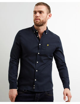 Slim Fit Oxford Shirt by Lyle & Scott