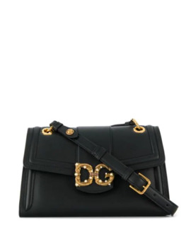 Antique Logo Shoulder Bag by Dolce & Gabbana