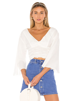 The Antoine Top In White by L'academie