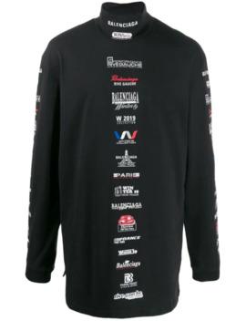T Shirt Met Lange Mouwen by Balenciaga