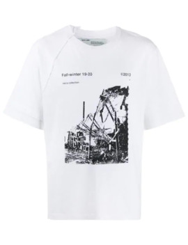 T Shirt Met Fotoprint by Off White
