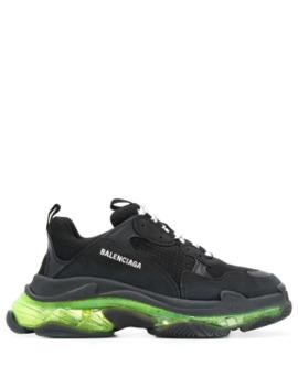 Triple S Sneakers Met Doorzichtige Zool by Balenciaga