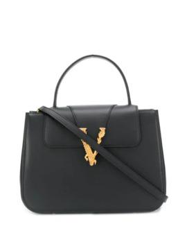 Virtus Top Handle Bag by Versace