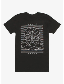 Star Wars Geometric Darth Vader Glow In The Dark T Shirt by Hot Topic