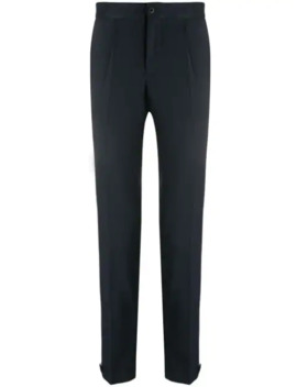 Tapered Leg Striped Trousers by Incotex