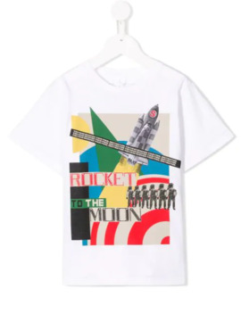 Rocket Print T Shirt by Stella Mc Cartney Kids