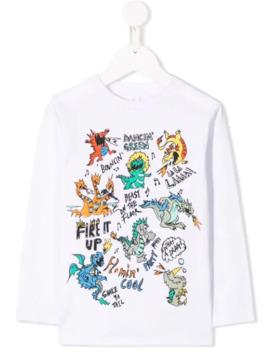 Dragons T Shirt by Stella Mc Cartney Kids