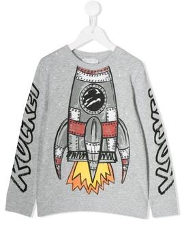 Rocket Sweatshirt by Stella Mc Cartney Kids