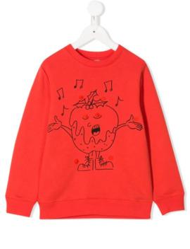 Singing Print Sweatshirt by Stella Mc Cartney Kids