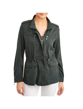 Women's Utility Jacket by Max Jeans